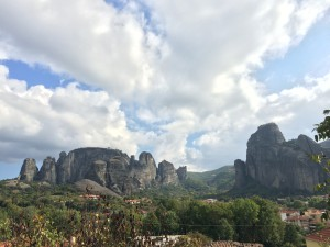 visiting Meteora when taking part one week at petzl roc trip'14
